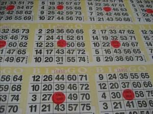 Loto quine et loto bingo